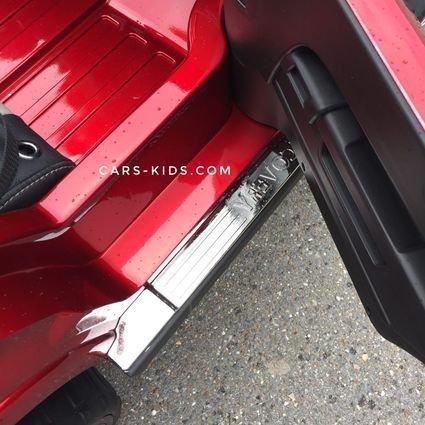 Электромобиль Range Rover XMX601 4WD 2-х местный, красный (2 усиленных АКБ, колеса резина, сиденье кожа, пульт, музыка)